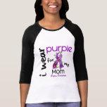 PÚRPURA del DESGASTE del lupus I PARA MI MAMÁ 43 Camiseta