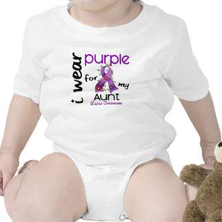 PÚRPURA del DESGASTE del lupus I PARA MI TÍA 43 Camiseta