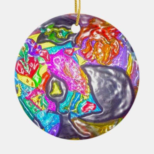 Púrpura del DISEÑO para los amantes del arte Ornamentos De Reyes