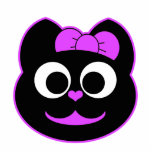 Púrpura del gatito de KiKi Escultura Fotografica