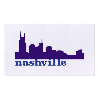 Púrpura del horizonte de Nashville Tarjetas De Visita