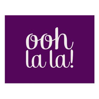 Púrpura del La del La de Ooh Postal