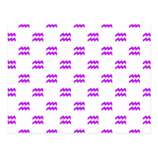 Púrpura del modelo del acuario postal