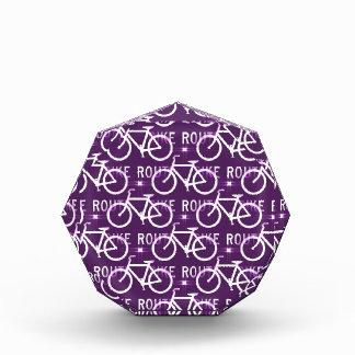 Púrpura del modelo del ciclista de la bici de Fixi