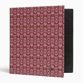 """Púrpura del modelo del vintage carpeta 1"""""""