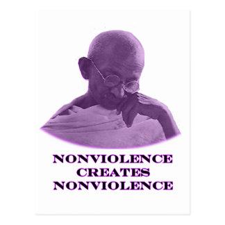 Púrpura del Nonviolence los regalos de Zazzle del Tarjetas Postales