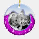 Púrpura del ornamento de la familia del país de la ornamente de reyes