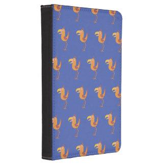 Púrpura del pájaro de Tucan Funda Para Kindle