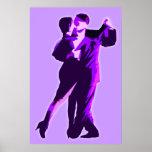 púrpura del poster modern3