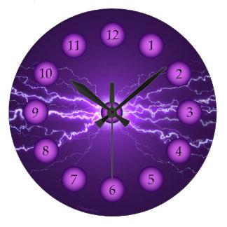 Púrpura del reloj del poder