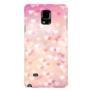 púrpura del rosa del amor de los corazones