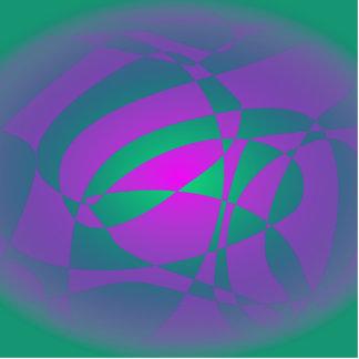 Púrpura del verde de las ideas de la flor esculturas fotograficas