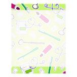 Púrpura del verde del amor del dentista lindo/del  membrete a diseño