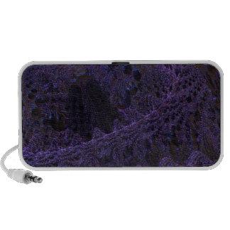 púrpura digital de la sorpresa altavoz de viaje