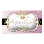 púrpura divina de oro de 311-Ciao Bella Plantillas De Tarjetas Personales