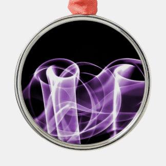 Púrpura - el arco iris agita coleccionable ornamente de reyes