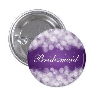 Púrpura elegante de la chispa del fiesta del favor