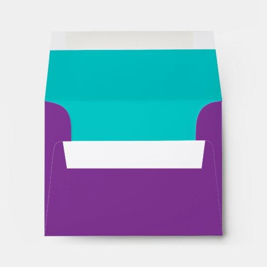 Púrpura elegante de la estrella de Mitzvah del Sobres