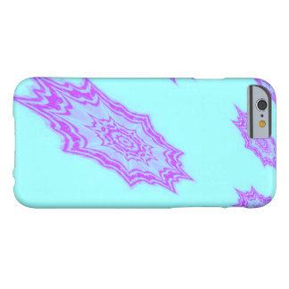 Púrpura en las estrellas nueve-acentuadas de la funda barely there iPhone 6