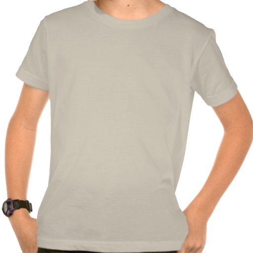 Púrpura enrrollada Wedjet de la cal Camisetas