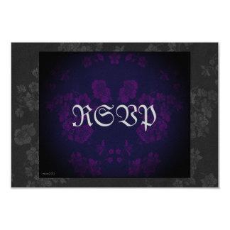 """Púrpura eterna 2 de la habitación de invitación 3.5"""" x 5"""""""