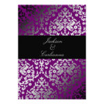 púrpura extraordinaria del damasco 311-Dazzling Comunicado Personal