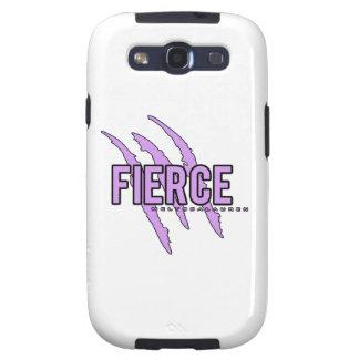 Púrpura FEROZ Samsung Galaxy S3 Protectores