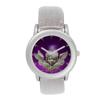 Púrpura FLORENTINA del RENACIMIENTO ANGEL Amethyst