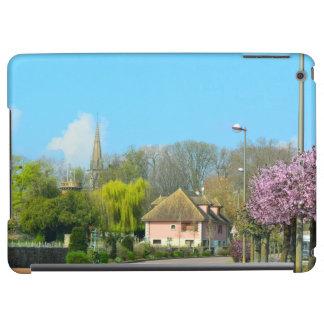 Púrpura francesa de la floración de la primavera