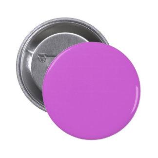 ~ PÚRPURA FUCSIA (del color sólido) Pin Redondo De 2 Pulgadas