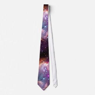 Púrpura galáctica del espacio exterior corbatas