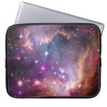 Púrpura galáctica del espacio exterior fundas computadoras