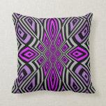 Púrpura geométrica abstracta del rosa del diseño f