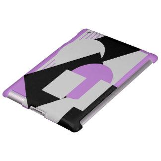 Púrpura gris del puré-para arriba abstracto
