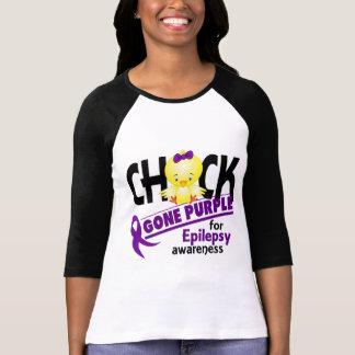 Púrpura ida polluelo 2 de la epilepsia camisetas