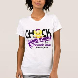 Púrpura ida polluelo 2 del cáncer pancreático t shirts