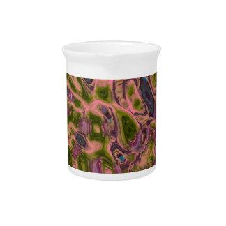 púrpura ideal abstracta jarrones