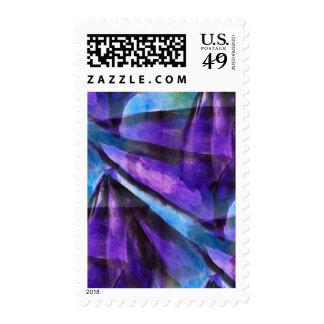púrpura inconsútil del cubismo, arte abstracto envio