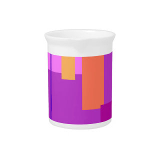 Púrpura inocente jarron