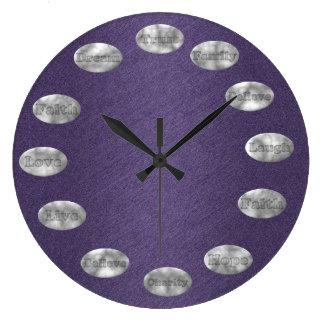 PÚRPURA inspirada del reloj