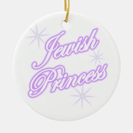 Púrpura judía de la princesa ornamentos para reyes magos