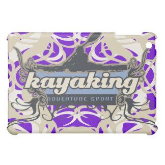 Púrpura Kayaking del deporte de la aventura