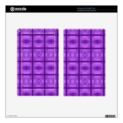 ¡Púrpura! Kindle Fire Skins