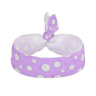 Púrpura linda del modelo del voleibol bandas para cabello