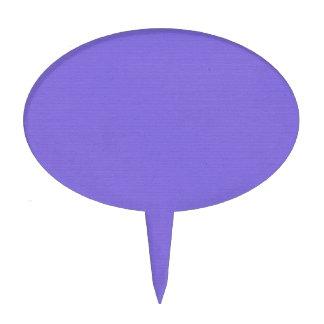 Púrpura llana decoración de tarta
