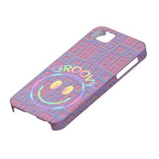 Púrpura maravillosa del rosa de los corazones de l iPhone 5 cobertura