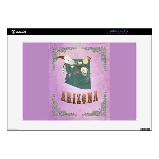 Púrpura moderna de la uva del mapa del estado de A Portátil Skins
