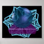 Púrpura nebulosa impresiones