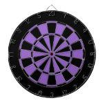 púrpura negra y violeta tabla dardos