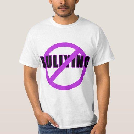 Púrpura NINGUNAS camisetas y botones QUE TIRANIZAN Playeras